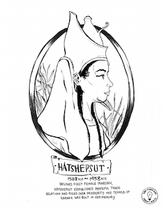 hatshepsut - Coloring Pages For Women