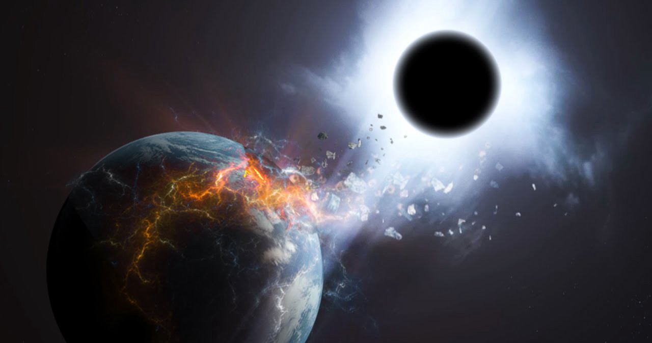 What Would Happen If Earth Fell Into A Black Hole?