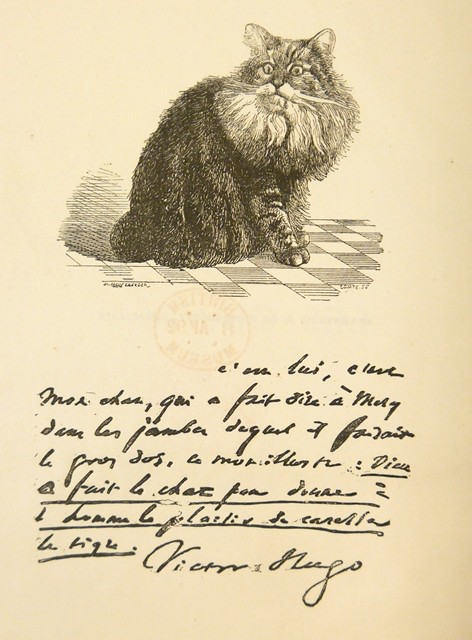 Chanoine, the cat of Victor Hugo