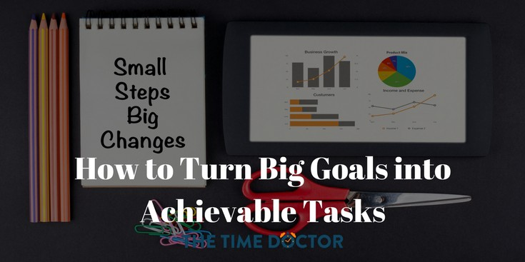 How to Turn Big Goals into Achievable Tasks