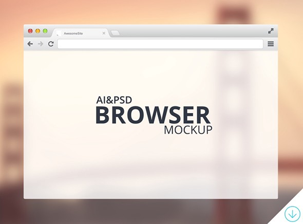 Freebie---Browser-Mockup-by-GraphBerry---Dribbble