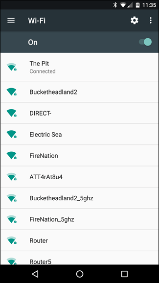 Android Wi-fi