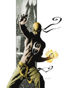 The Immortal Iron Fist, cover.