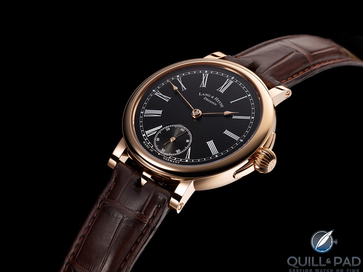 Lang & Heyne Johann in red gold