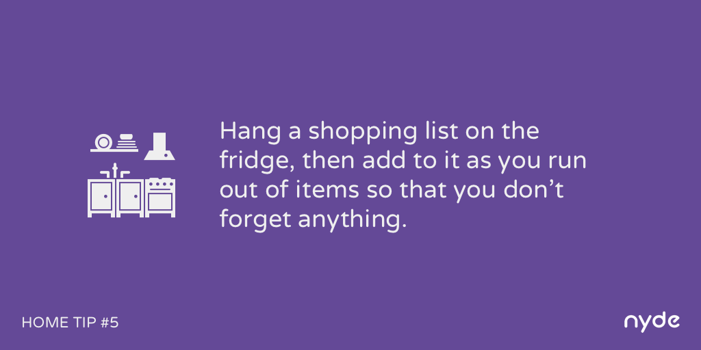 Home Tip #5