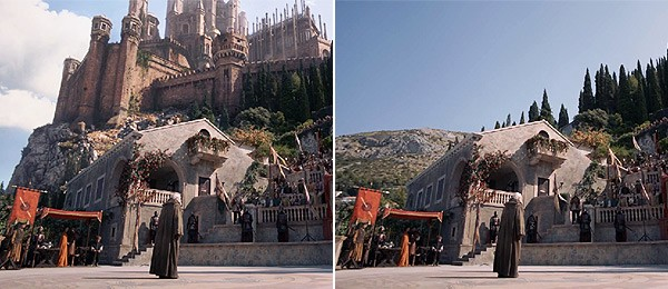 Much of Game of Thrones was CGI (as you probably could've guessed, given the dragons)