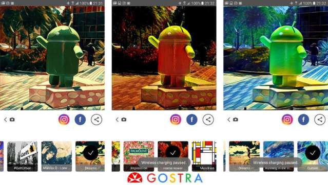Prisma app for Android