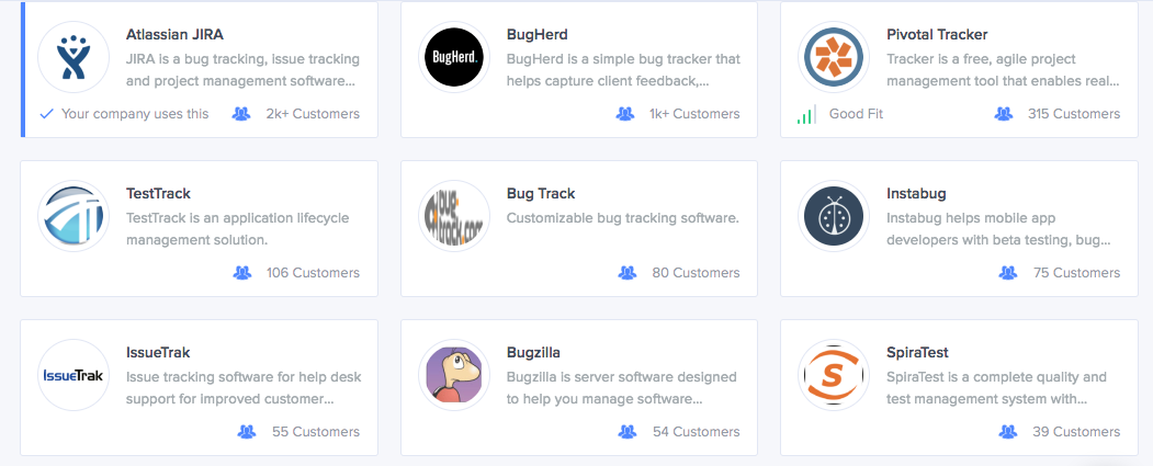 top bug and issue tracking products of 2016 siftery medium