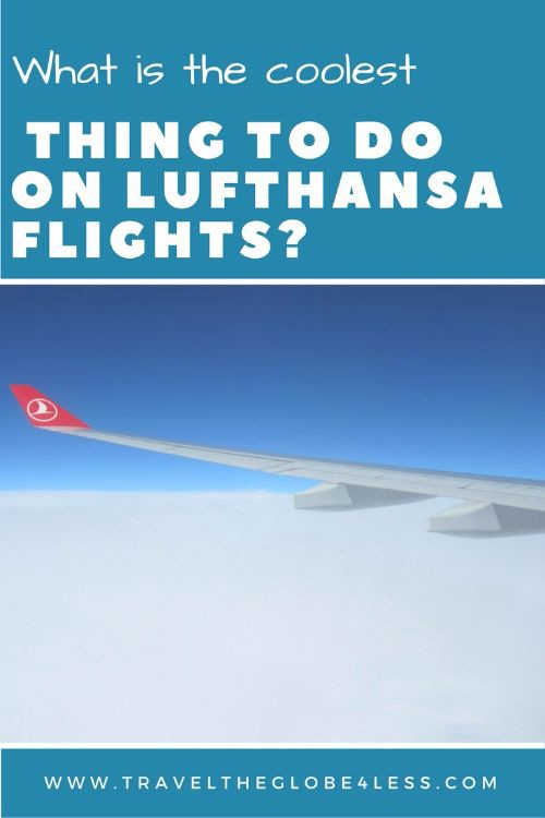 Lufthansa flight Pinterest