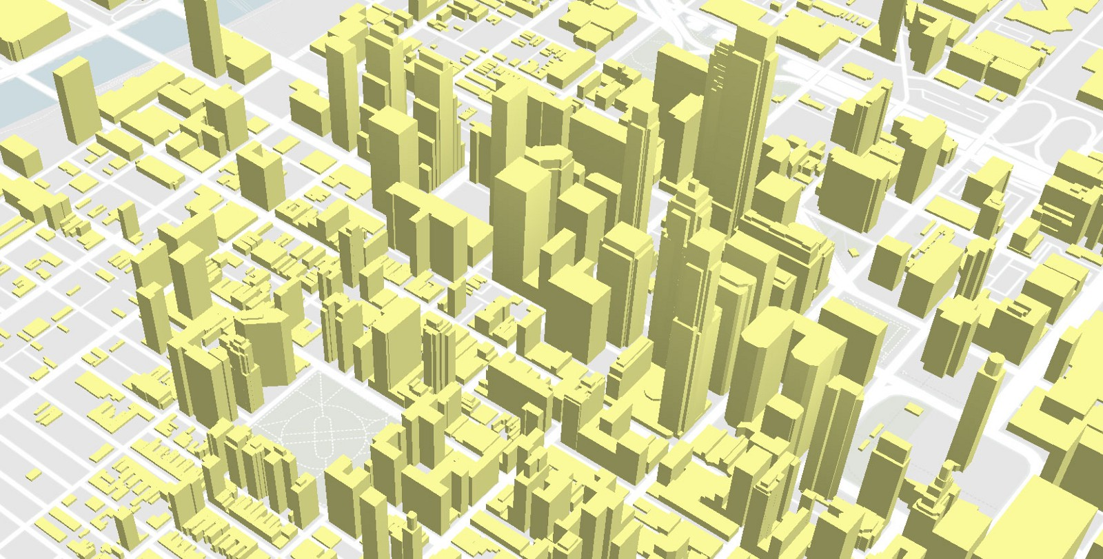 Shading and lighting 3D features in Mapbox GL JS – Points of interest