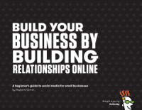 cover of social media guide, one of GoDaddy's free ebooks for small business