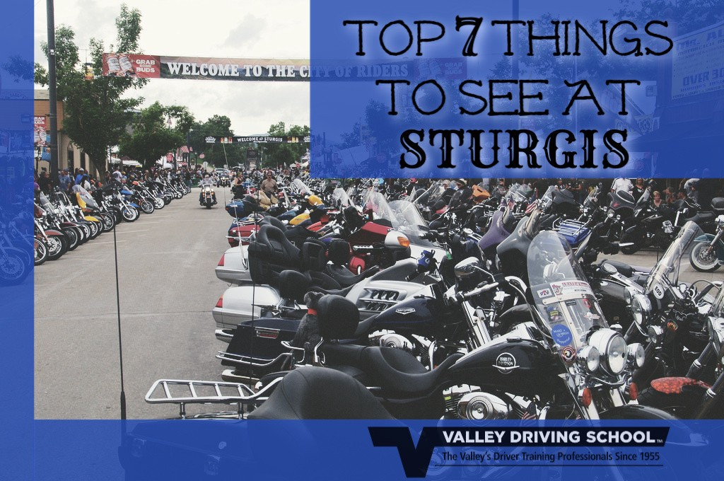 Top 7 Things to See at Sturgis 2018 – Valley Driving School