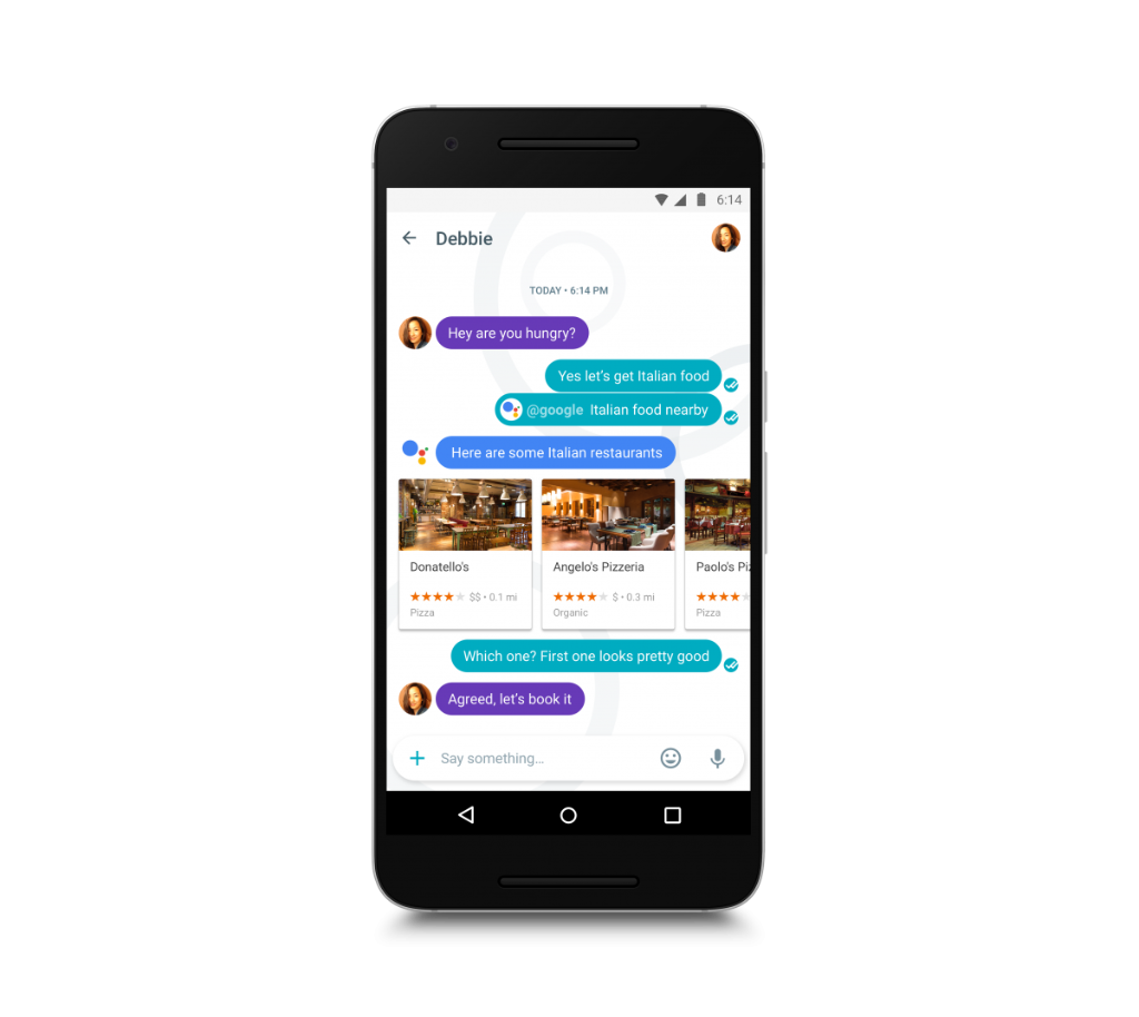 Google's artificial intelligence-enhanced smart messaging app is here: