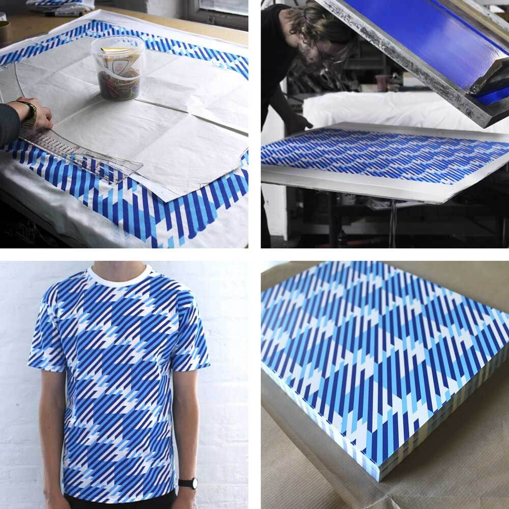 Silk Screen Screens : Silk screen printing vs digital on fabric