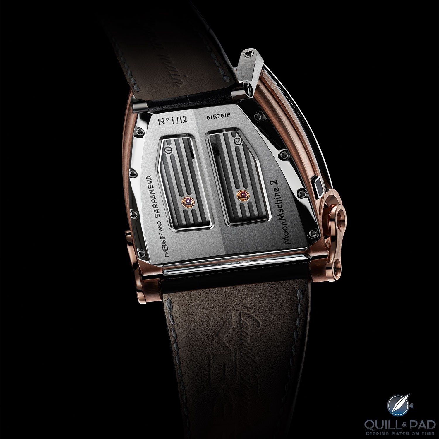 Back of of the MoonMachine 2 by MB&F with Stepan Sarpaneva
