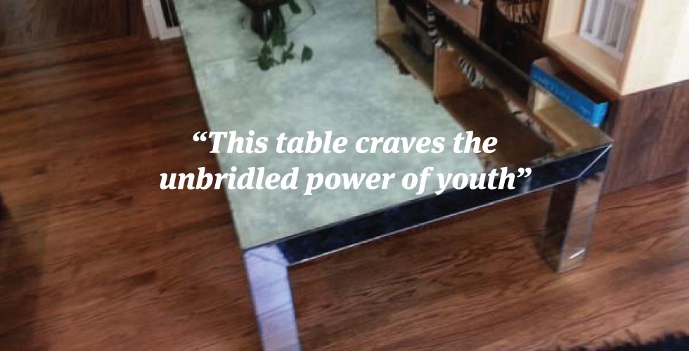 ATTN Cokeheads: The Coffee Table of Your Dreams is on ...