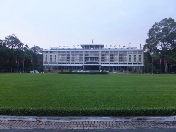 Vietnam Reunification Palace Photo by Sally from Our 3 Kids V the World