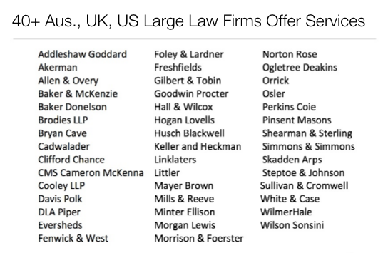 Large law firm client facing KM and AI