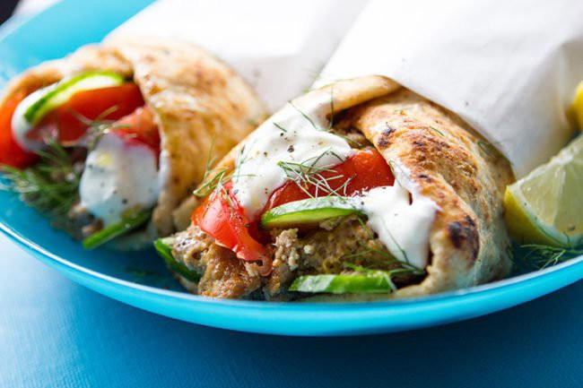 slow cooker chicken gyros skinnyms