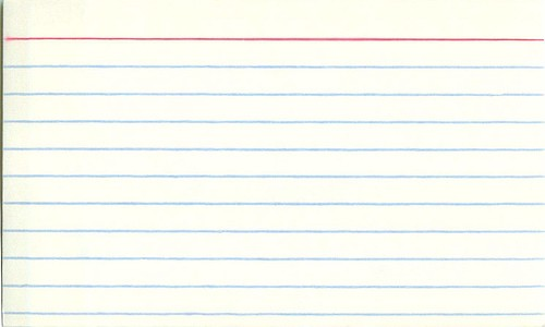 index cards screenwriting agents