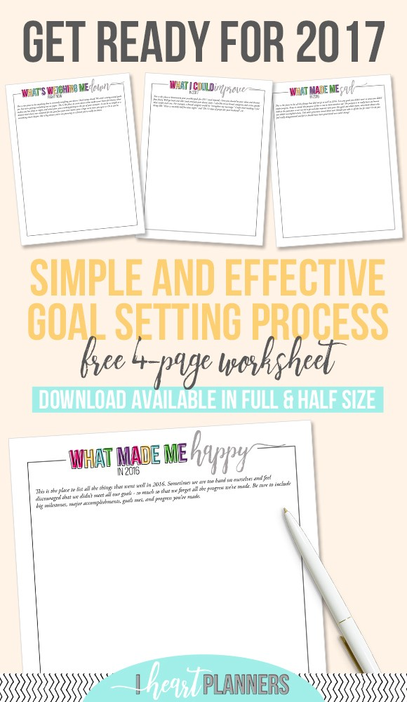 To set good, intentional goals you need some time to think and reflect. That's why now is the best time to have a simple and effective goal setting process in place. Here is a free download (available in full size and half size) for you to download. - http://ift.tt/1qikClj
