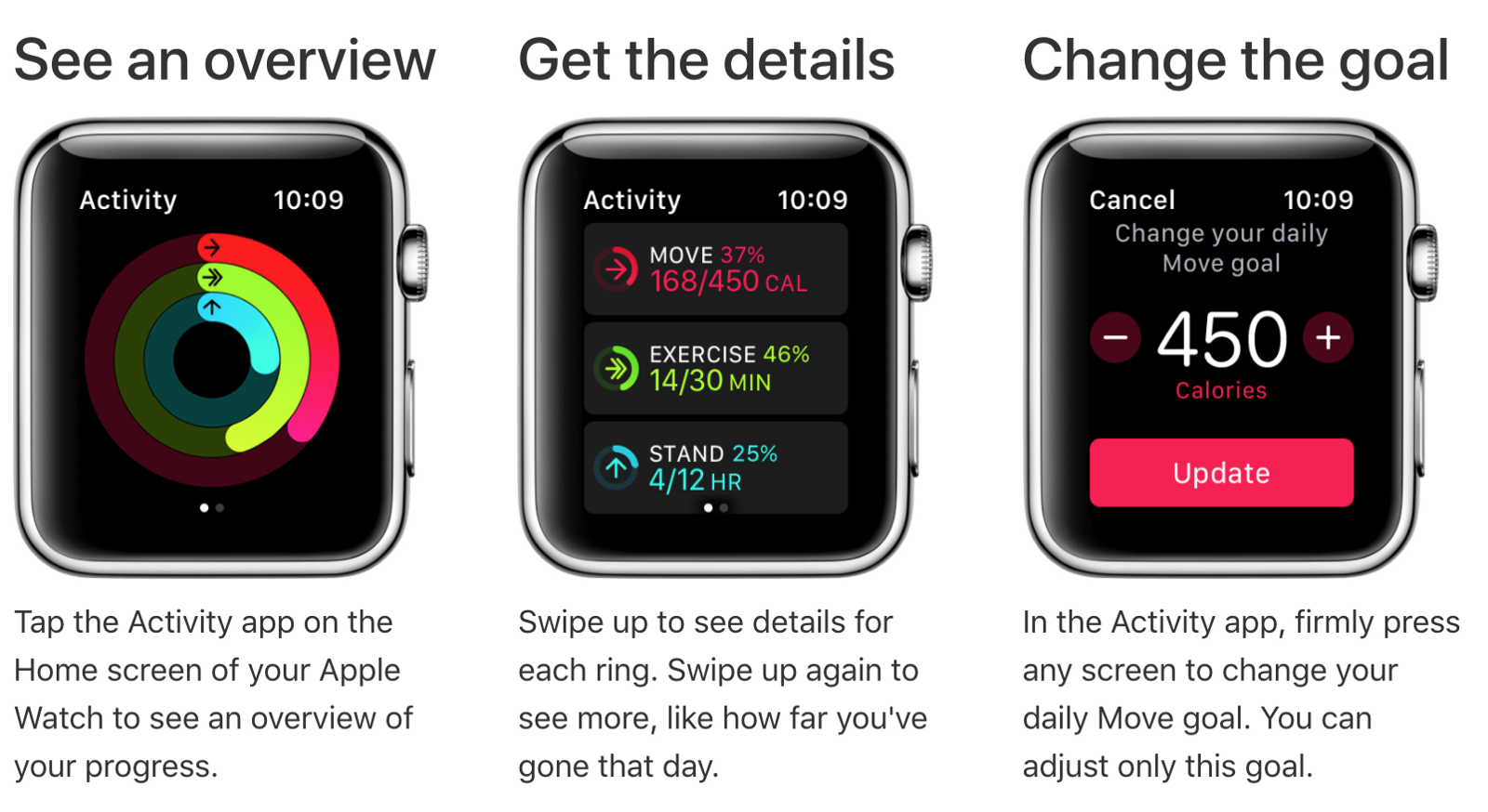 Apple Watch Activity Tracking Overview