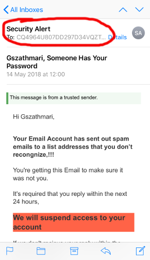Email Impersonation Scams by Gabor Szathmari - Hakin9 - IT Security