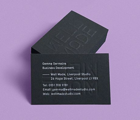 Print design inspiration 1330 from up north well made studio business cards reheart Choice Image