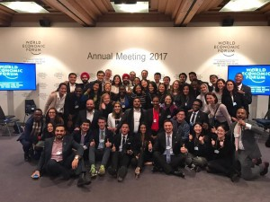 The amazing Global Shapers who supported me on this journey