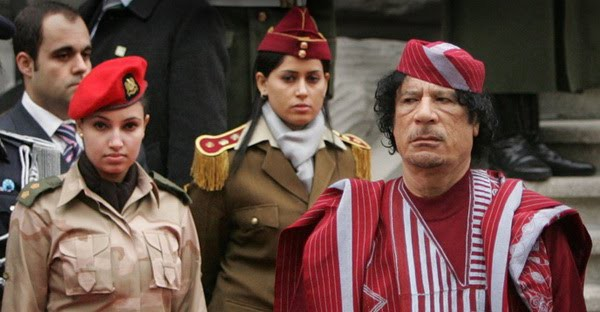 Image result for gaddafi bodyguards