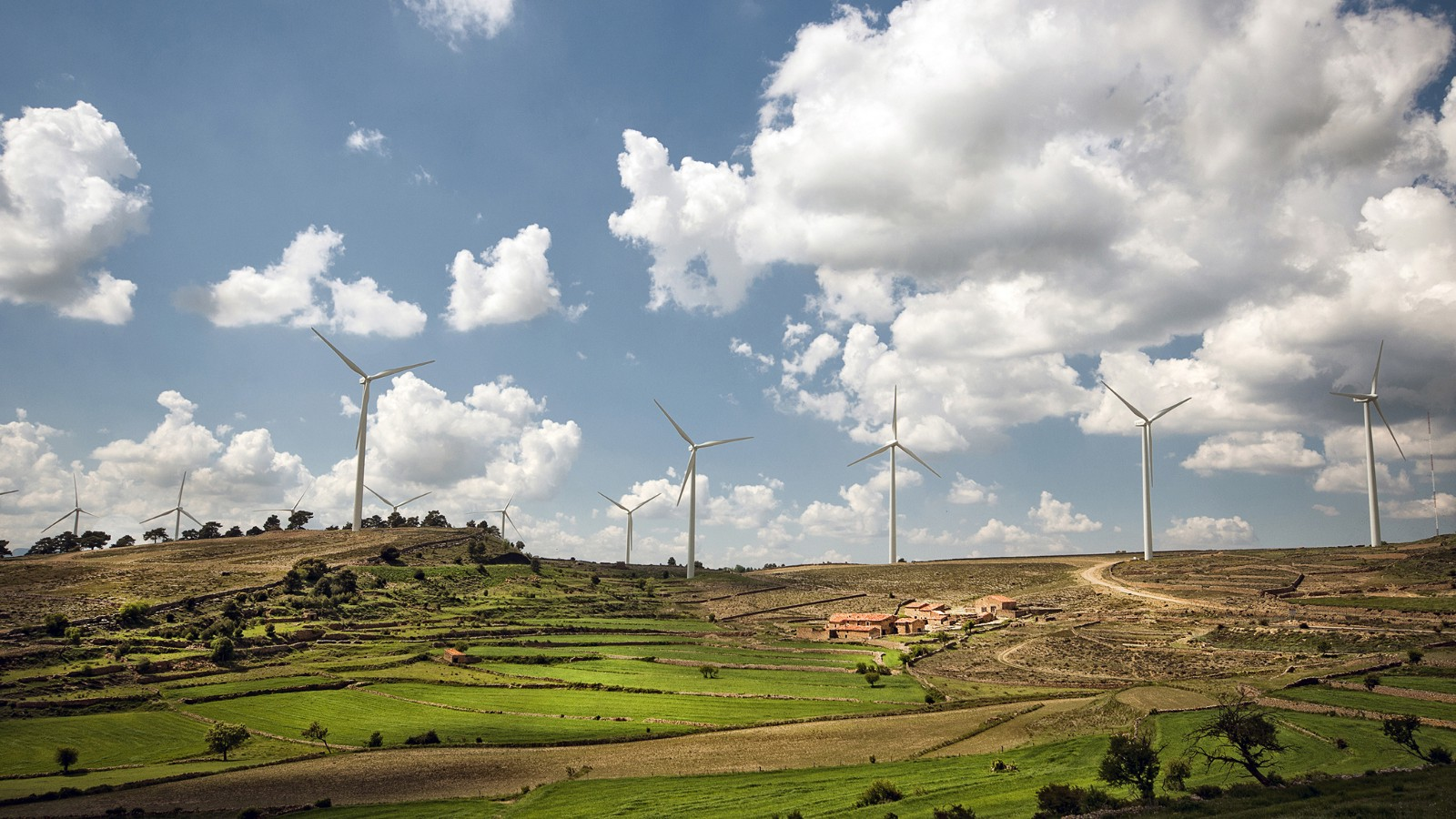 Windmills in the Castellon Province of Spain