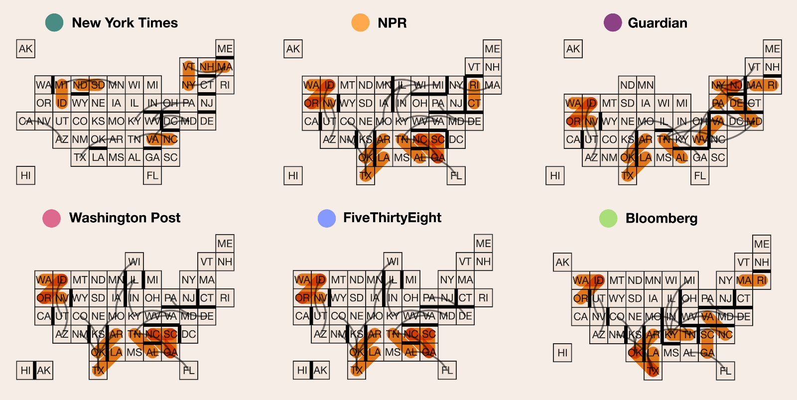 Whose Grid Map is better Quality Metrics for Grid Map Layouts