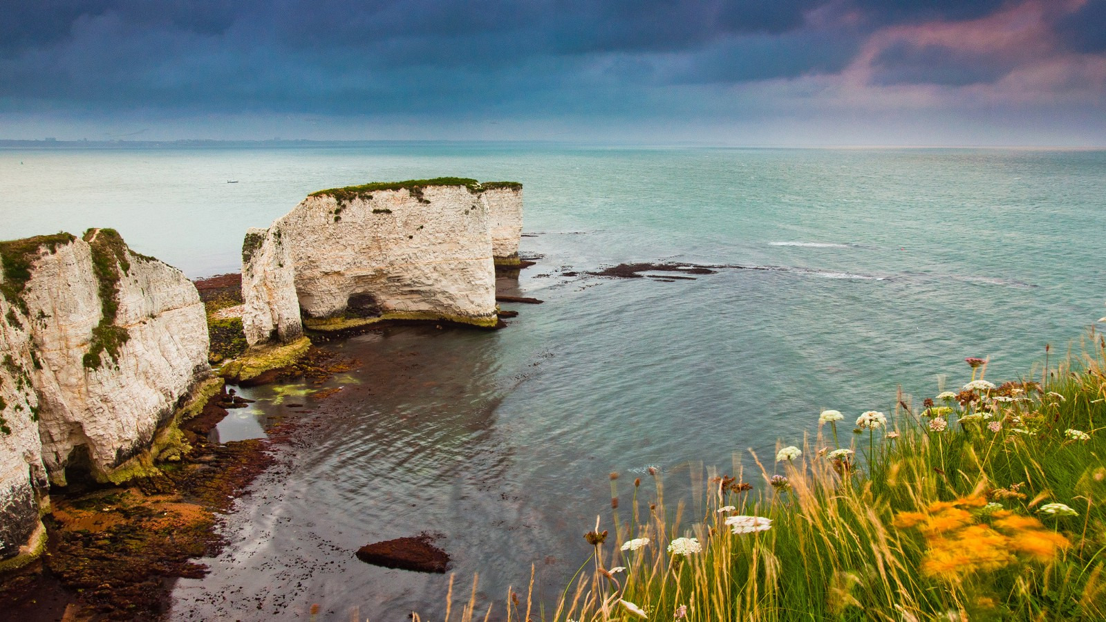 Old Harry Rocks near Dorset, England