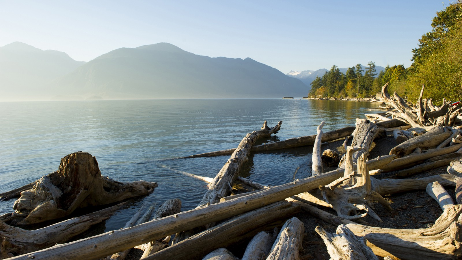 Howe Sound, Coast of British Columbia, Canada