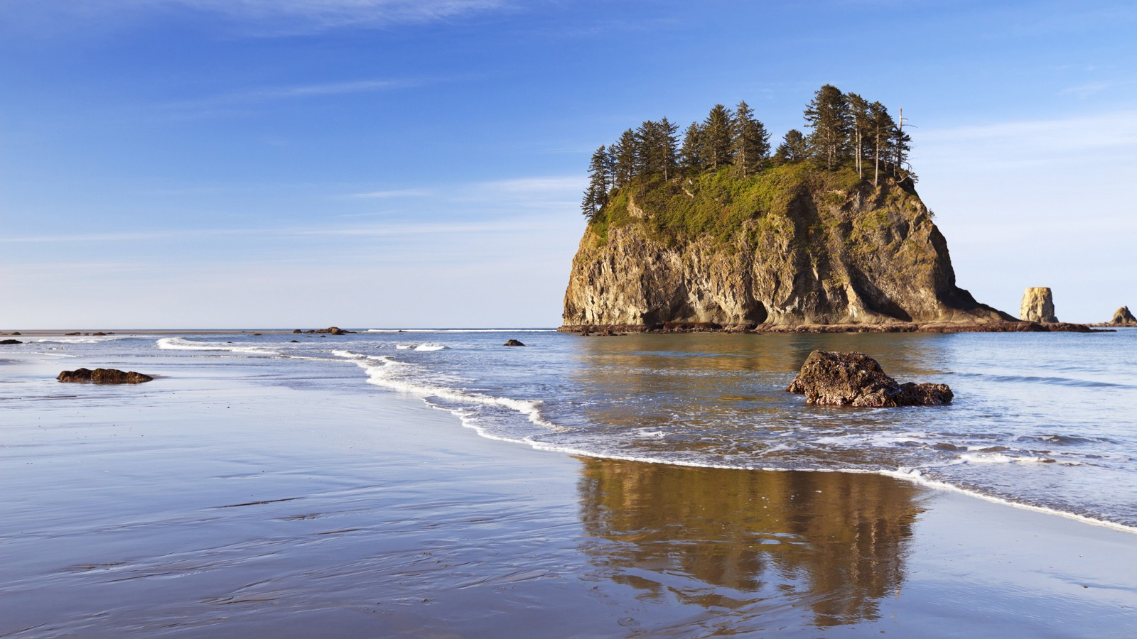 Second Beach on the Olympic Peninsula near La Push, Washington