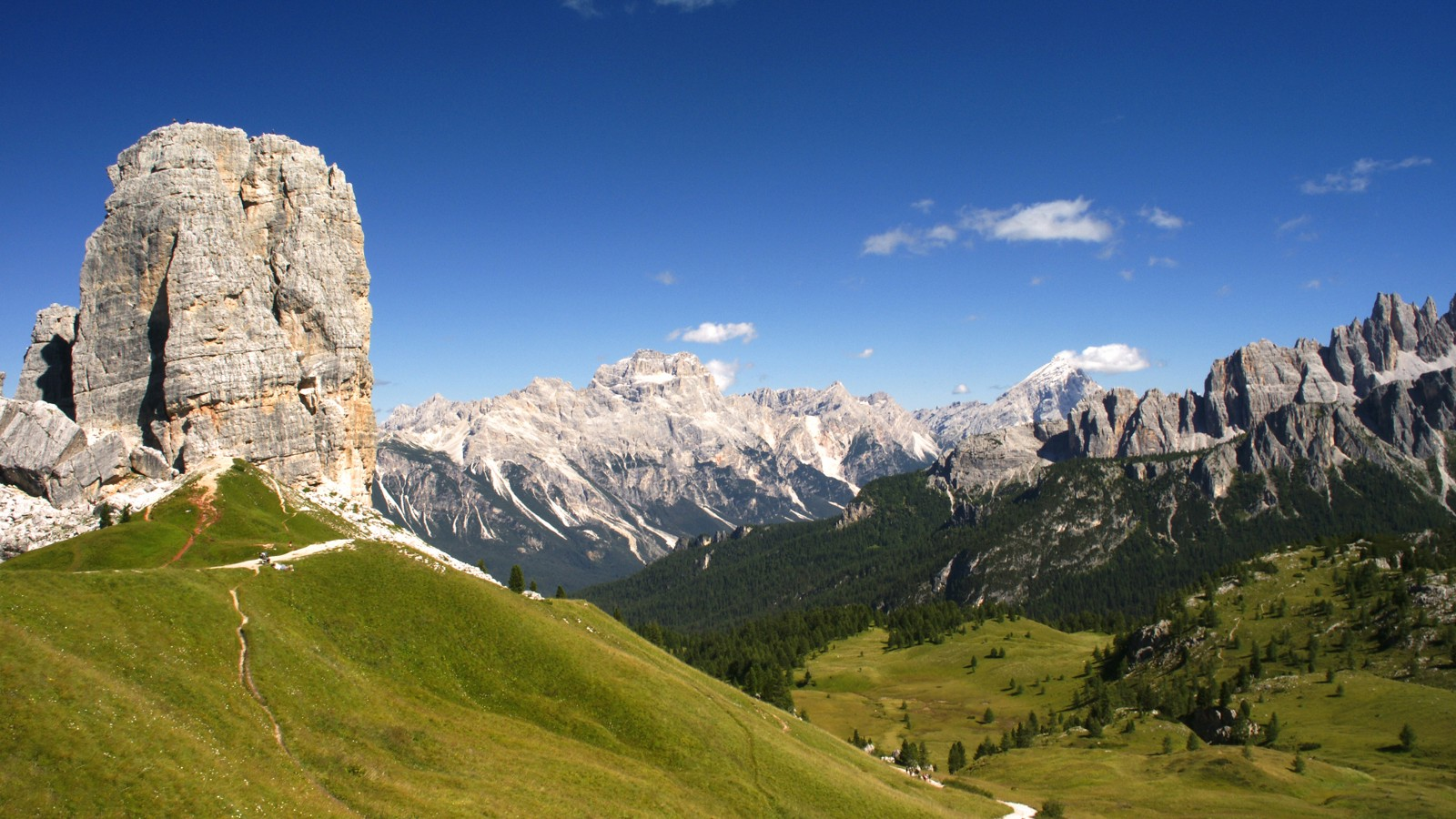 The Dolomites in the Italian Alps