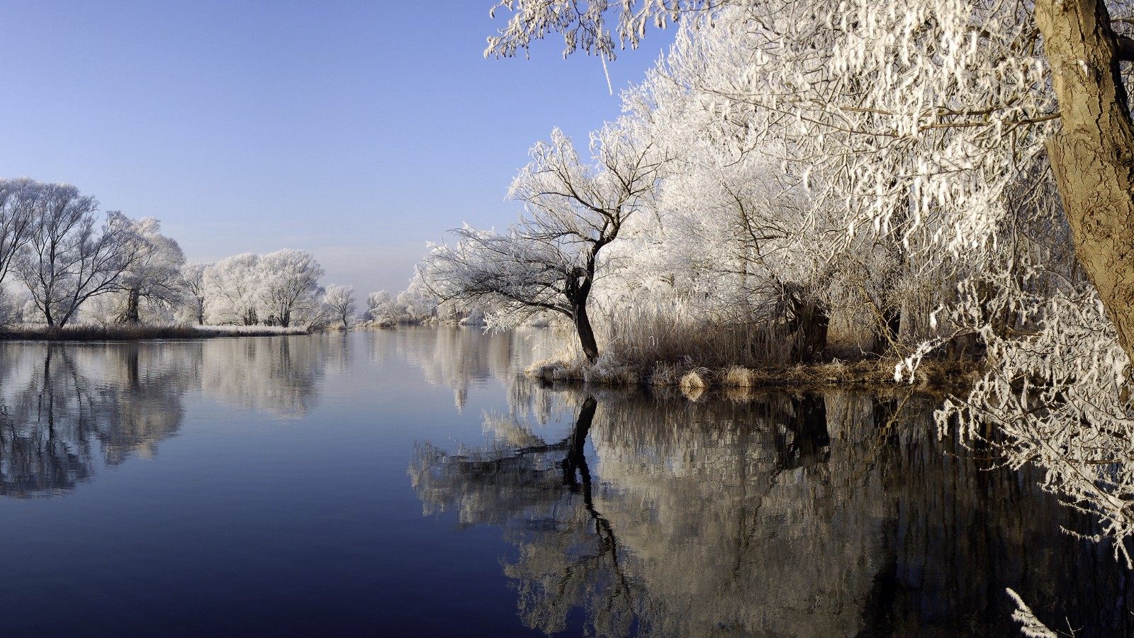 Havel River near Brandenburg, Germany