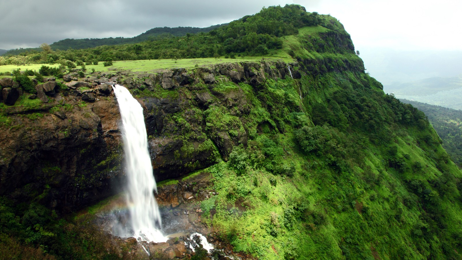 Madhe Ghat Waterfall near Pune, India