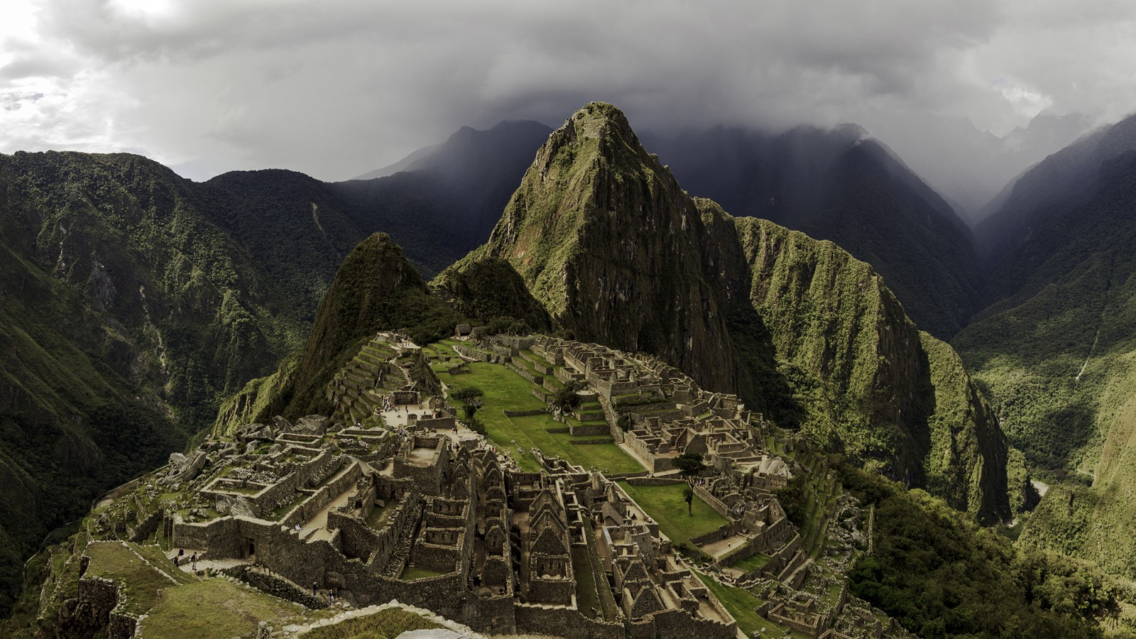 Machu Picchu and surrounding mountains, Peru