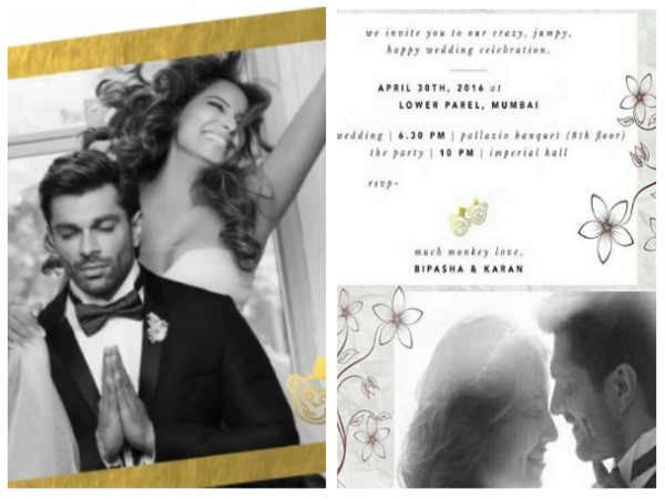 10 Unique and Elegant Wedding Invitations of Indian Celebrities