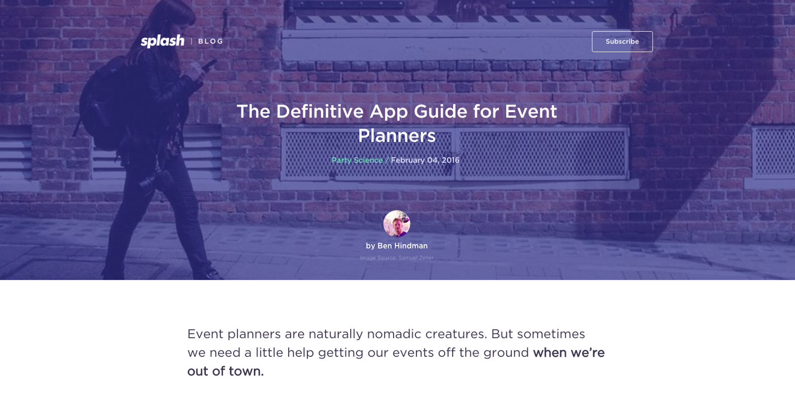 Pretty Instant mention in Ben Hindmans Definitive App Guide For