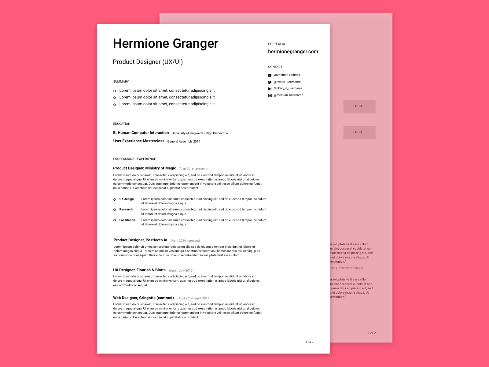 How to make your resume as usercentred as you are UX Planet