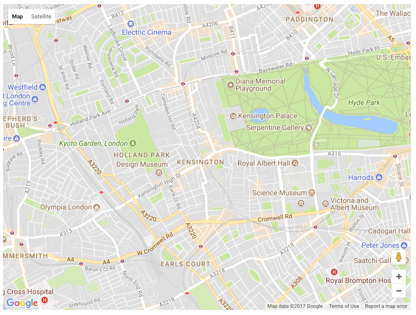 Building a custom Google Map component with Vuejs Founders