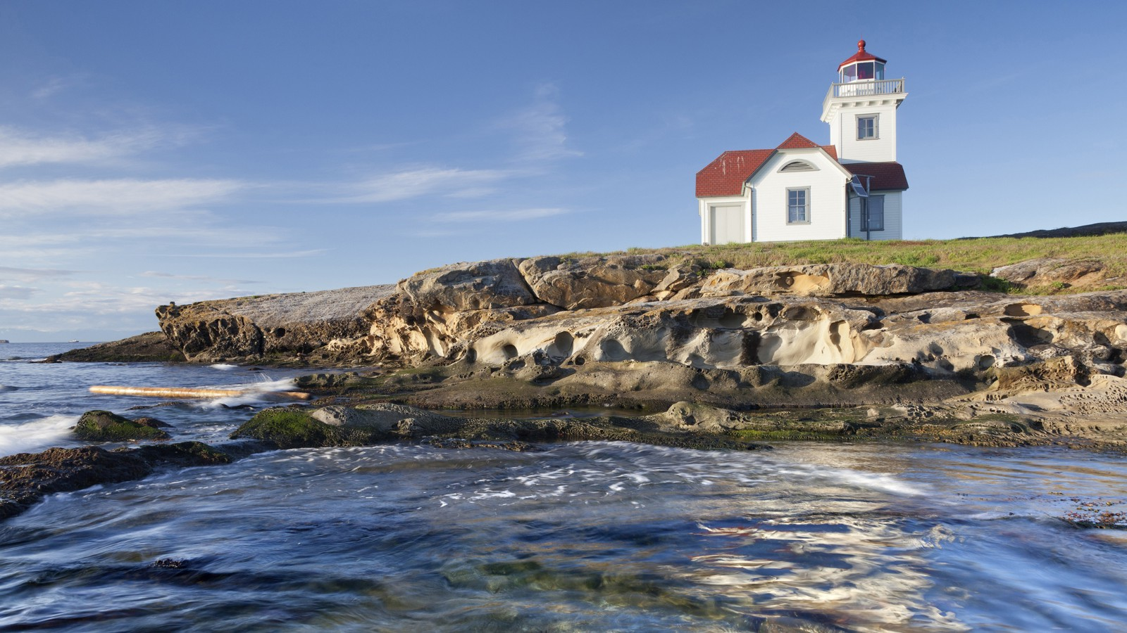 Patos Island Lighthouse, San Juan Islands, Washington