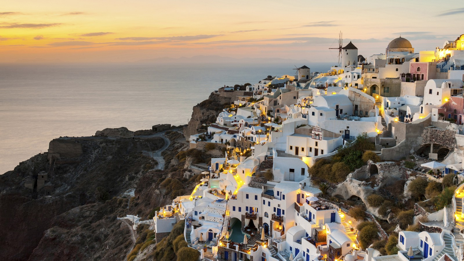 Village of Oia, Santorini, Greece