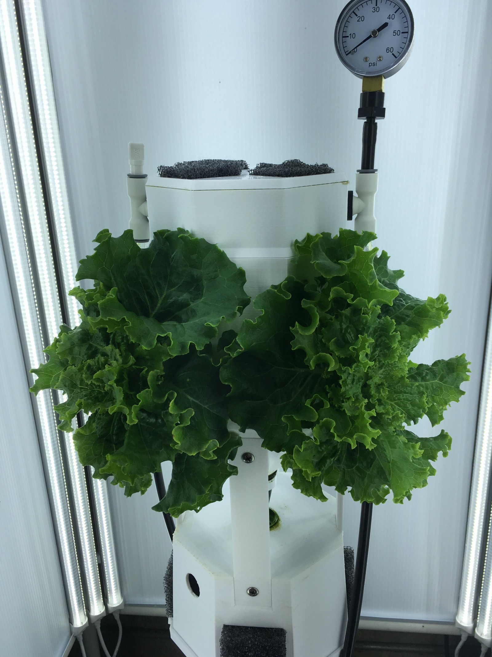 Grow Your Own Vertical Farm in This DIY, Raspberry Pi-Controlled, 3D-Printed Tower