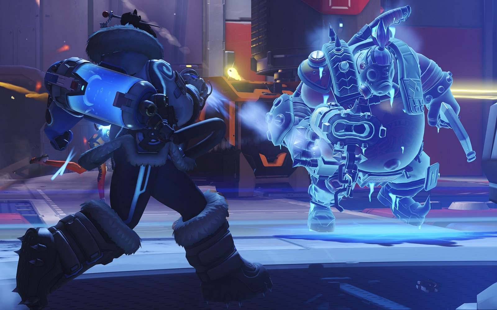 overwatch mei s primary fire and blizzard bugged hollywood com