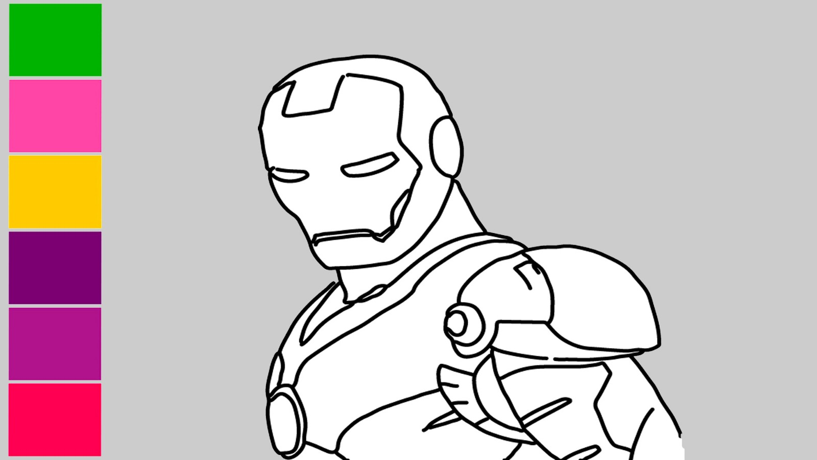 How to draw iron man infinity war drawing in pencil