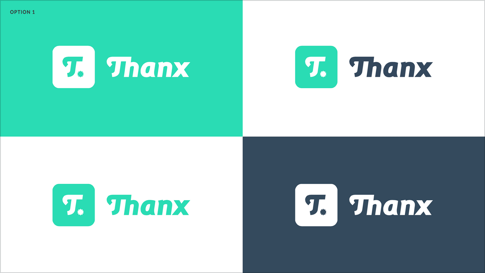 Rebranding thanxinc a fast growing tech company thanx blog mobile solution the wordmark was a custom typeface with a ligature joining the th influenced by the original sketch i had done way back in 2012 biocorpaavc