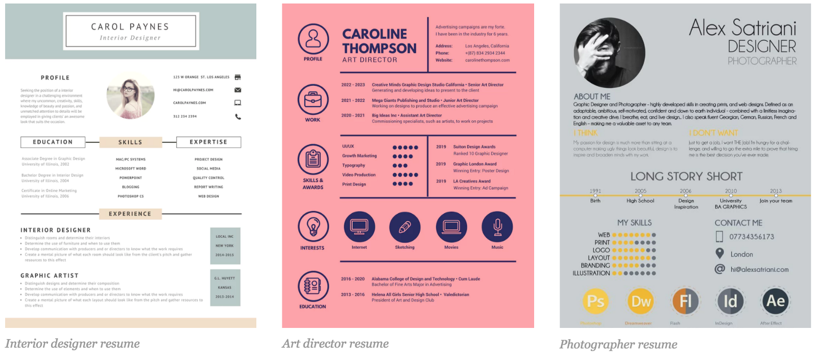 7 Resume Design Principles That Will Get You Hired Faizan Bhatti